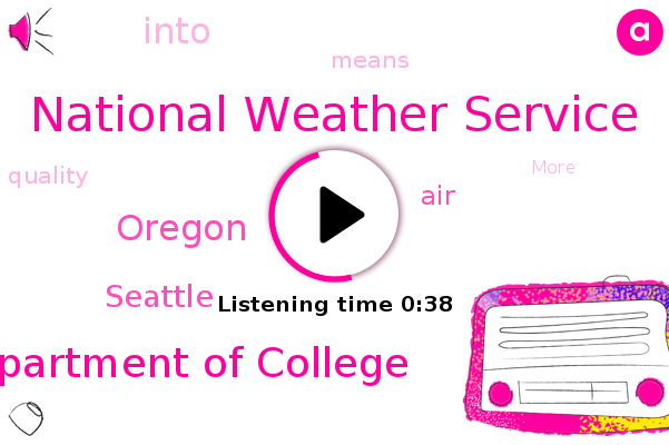 National Weather Service,Oregon,Seattle,Department Of College