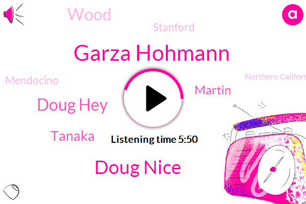 Garza Hohmann,Doug Nice,Doug Hey,Mendocino,Stanford,Northern California,Tanaka,Martin,Wood