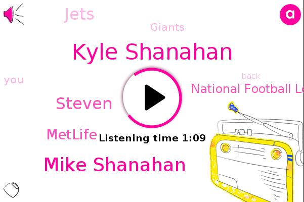 Kyle Shanahan,Mike Shanahan,Metlife,National Football League,Jets,Giants,Steven