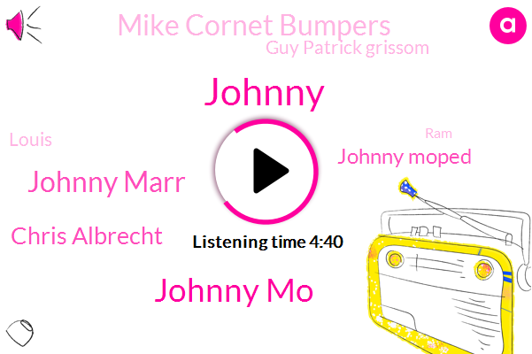 Johnny,Johnny Mo,Johnny Marr,Chris Albrecht,Johnny Moped,Mike Cornet Bumpers,Guy Patrick Grissom,RAM,Palmdale,California,Louis