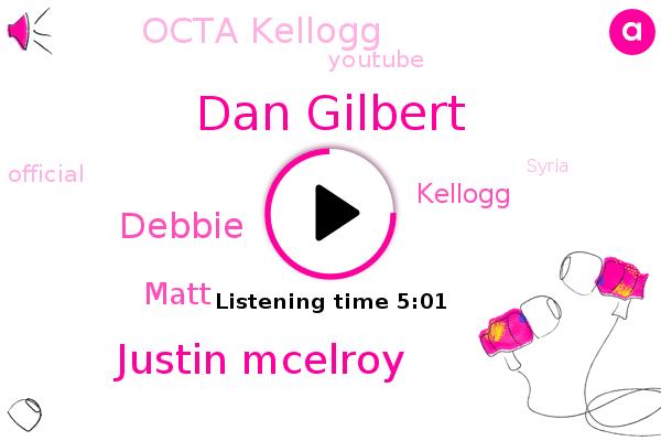 Kellogg,Dan Gilbert,Octa Kellogg,Justin Mcelroy,Official,Syria,Debbie,Youtube,Matt,Vegas