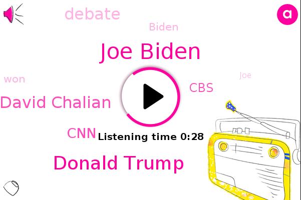 Joe Biden,CNN,Donald Trump,CBS,David Chalian