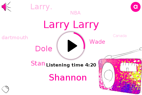 Larry Larry,Shannon,Canada,Atlantic Ocean,Houston,Cape Breton,Dole,NBA,Stan,Wade,Nova Scotia,Dartmouth,Austin,Larry.