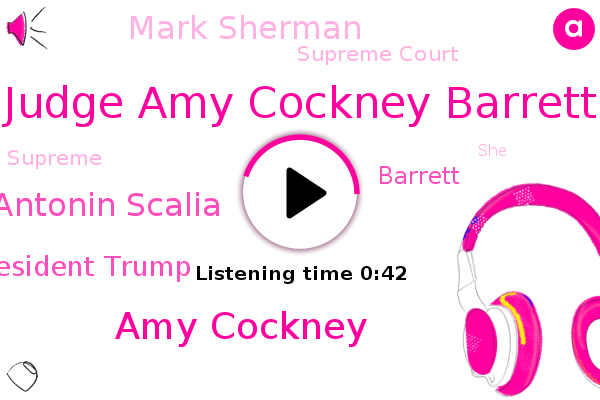 Listen: Who is Amy Coney Barrett, Trump's pick for the Supreme Court?