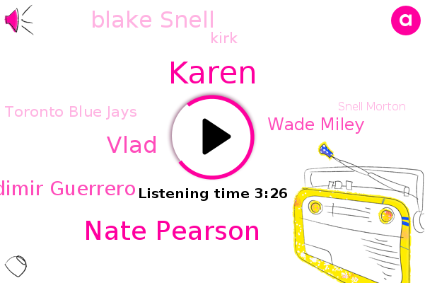 Toronto Blue Jays,Toronto,Tampa Bay,Nate Pearson,Vlad,Intern,Snell Morton,Vladimir Guerrero,Karen,Phillies,Wade Miley,Blake Snell,Kirk