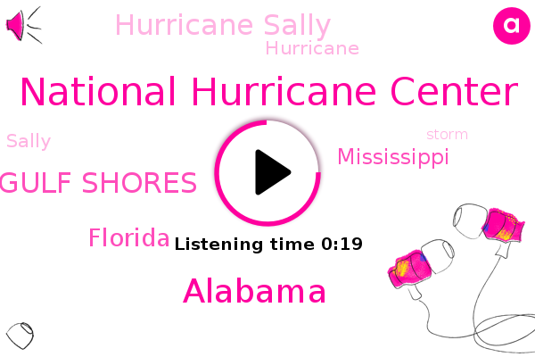Hurricane Sally,National Hurricane Center,Gulf Shores,Alabama,Florida,Mississippi