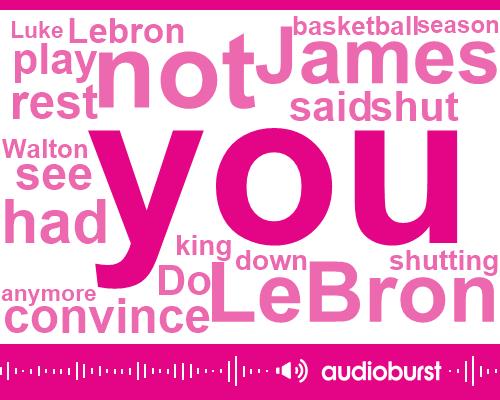 Lebron James,Basketball,Lakers,Luke,Walton,USA,Two Months