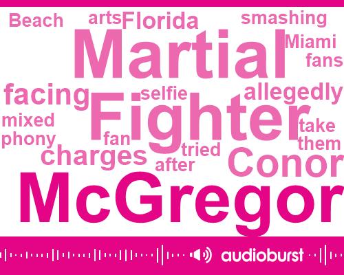 Conor Mcgregor,Miami Beach,Florida