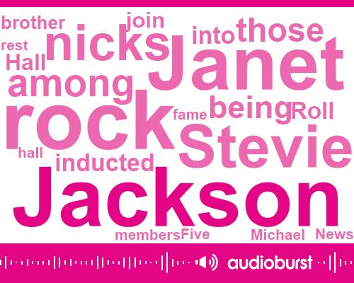 Janet Jackson,Rock Hall,Knicks,Stevie Nicks,Fox News,Fleetwood,Michael