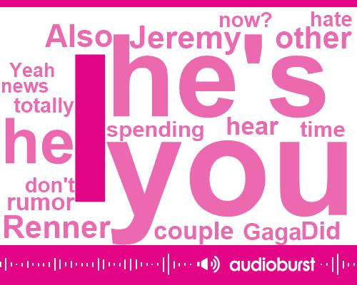 Jeremy Renner,Brad Urban,Amy Schumer,Nicole Kidman,Gaga,Ryan,Sixteen Years,Six Foot