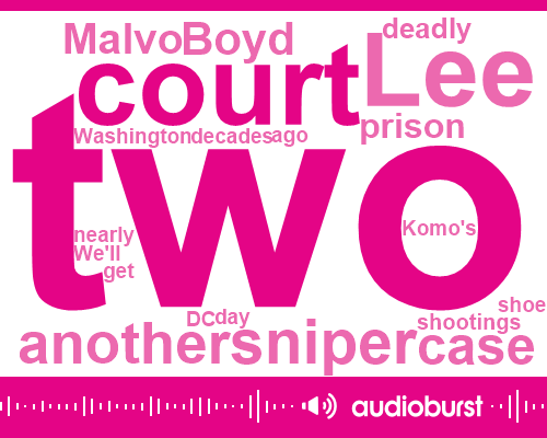 Supreme Court,Lee Malveaux,Lee Boyd Malvo,Komo,Virginia,Romero,Washington,United States,Melville,Bellingham,Maryland,Two Decades