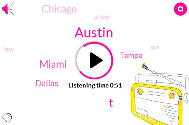 Miami,Austin,Dallas,Tampa,Chicago,T