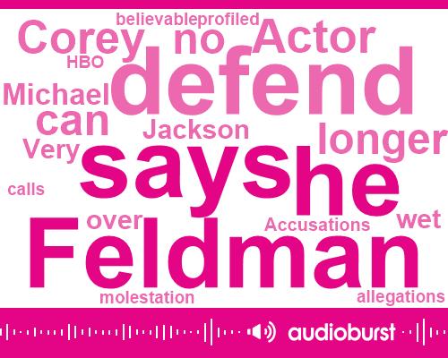 Listen: Corey Feldman Says He Can 'No Longer Defend' Michael Jackson After 'Leaving Neverland'