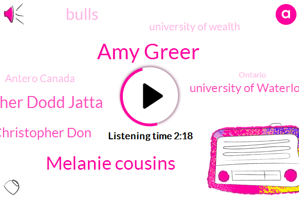 Amy Greer,Melanie Cousins,Christopher Dodd Jatta,Christopher Don,Antero Canada,University Of Waterloo,Bulls,University Of Wealth,Royal Society,Ontario,Sixty Seconds,Forty Percent,Four Degree