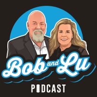 """A highlight from Lu """"Tries"""" To Tell A Joke (Again)!-Find Out What Guests Bob Wants on the Podcast-Looking For Your Questions To Us! - The Bob and Lu Show Ep 193"""