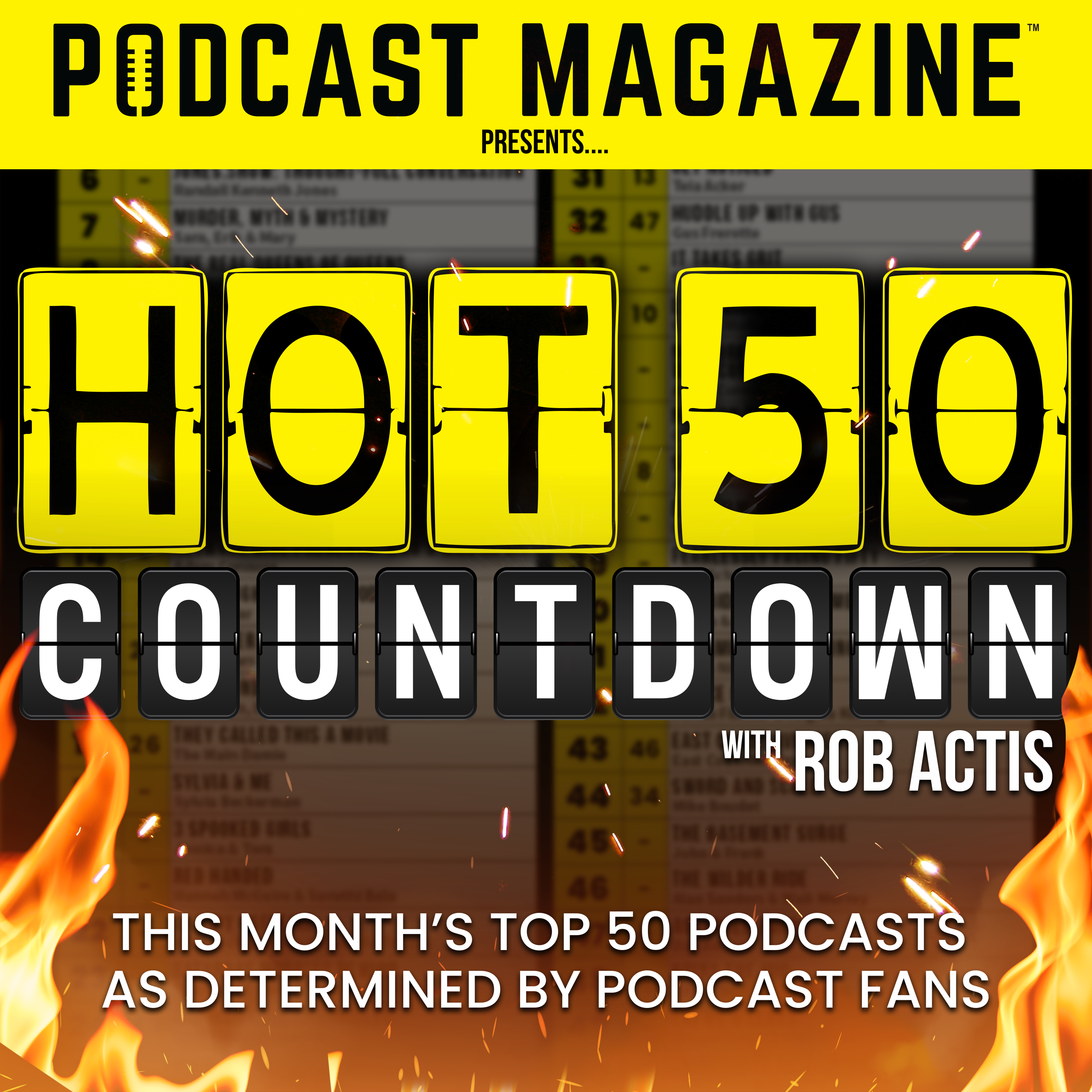 Hot 50 Countdown Introduction - burst 3